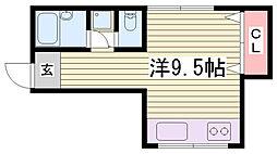 エトワール御屋敷[1階]の間取り