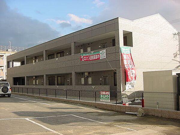 京都府久世郡久御山町佐山小字東代の賃貸マンションの外観