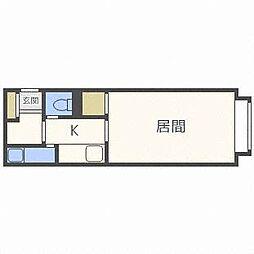 PLAZA IN N31[4階]の間取り