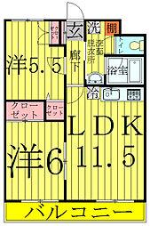 メゾン・ドゥ・レスト[3階]の間取り