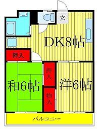 染谷ビル[3階]の間取り