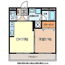 Royal・Stage佐久平[3階]の間取り