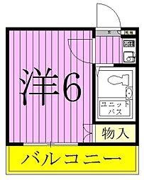 北松戸第7レジデンス[203号室]の間取り