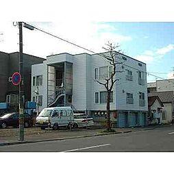 北海道札幌市北区北二十八条西4丁目の賃貸アパートの外観
