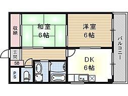 EXCEL YAMAMOTO[5階]の間取り