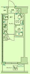 神奈川県川崎市川崎区藤崎1丁目の賃貸マンションの間取り