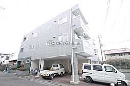 神奈川県相模原市南区東林間4丁目の賃貸マンションの外観