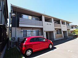 大阪府堺市東区日置荘北町3丁の賃貸アパートの外観