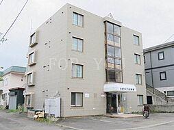 北海道札幌市豊平区月寒東一条2丁目の賃貸マンションの外観
