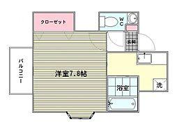 ポピーハウス[1階]の間取り