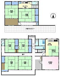 [一戸建] 埼玉県鶴ヶ島市大字脚折 の賃貸【/】の間取り