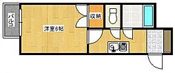 トランプヒルズ[3階]の間取り