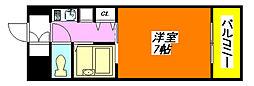 リップル布施・イースト 108号室[1階]の間取り