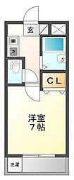 スペーシャス多田[2階]の間取り