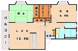 ラフォーレMORI[2階]の間取り