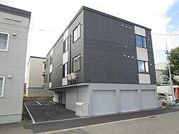 北海道札幌市東区北三十五条東10丁目の賃貸アパートの外観