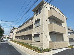 埼玉県越谷市東柳田町の賃貸アパートの外観