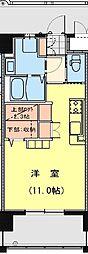California APT ~カリフォルニア アパートメント~ 4階ワンルームの間取り