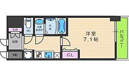 S-RESIDENCE谷町九丁目[14階]の間取り