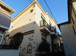 神奈川県川崎市麻生区上麻生7丁目の賃貸アパートの外観