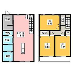 [一戸建] 静岡県浜松市西区篠原町 の賃貸【静岡県 / 浜松市西区】の間取り