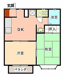 エポックOSADA I[103号室]の間取り
