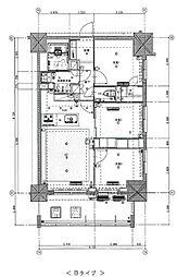 東京メトロ丸ノ内線 新宿御苑前駅 徒歩5分の賃貸マンション 5階3LDKの間取り