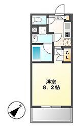 タウンライフ覚王山[5階]の間取り