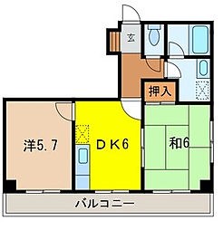 プランドール戸田公園[2階]の間取り