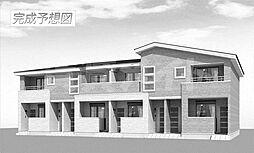 三重県名張市東町の賃貸アパートの外観