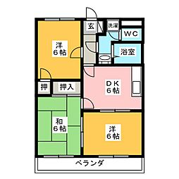 ストークハウス・アネックス[1階]の間取り
