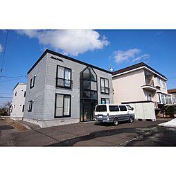 北海道札幌市北区屯田6条1丁目の賃貸アパートの外観