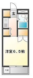 メゾン・ド・武蔵野 学生専用[4階]の間取り