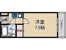 松下マンション[3階]の間取り