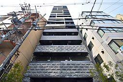 プレサンス上町台クレスト[8階]の外観