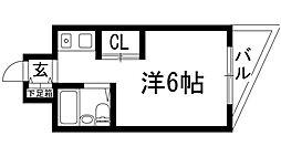 上中マンション[2階]の間取り