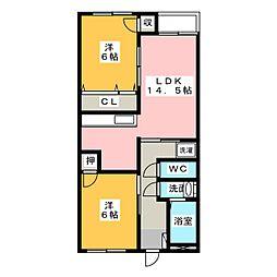 第3丸柴ビル[1階]の間取り