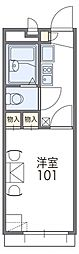 兵庫県神戸市北区藤原台中町2丁目の賃貸アパートの間取り