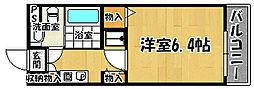 兵庫県神戸市西区南別府4丁目の賃貸マンションの間取り