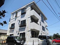 静岡県御殿場市中畑の賃貸アパートの外観