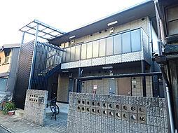 京都府京都市中京区西ノ京小堀町の賃貸アパートの外観