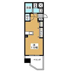 エステムコート京都駅前KOTO[6階]の間取り
