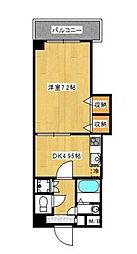 グレイスコート新宿[1階]の間取り