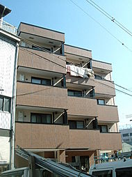 キングスコート桑津[4階]の外観