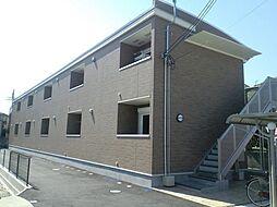 奈良県大和郡山市北西町の賃貸アパートの外観