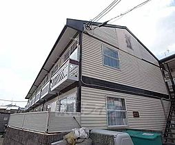 京都府京都市西京区嵐山森ノ前町の賃貸アパートの外観