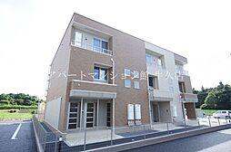 茨城県土浦市荒川沖の賃貸アパートの外観