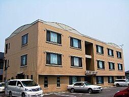 栃木県宇都宮市西原町の賃貸マンションの外観