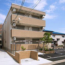 大阪府茨木市中穂積3丁目の賃貸アパートの外観