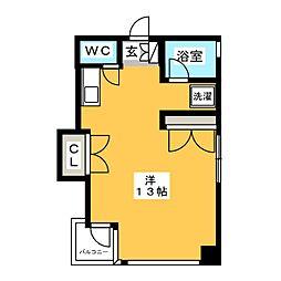 サクラ博多ビル[5階]の間取り